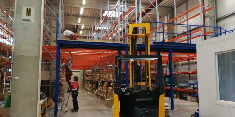 Litz Logistikcenter 2.Kommissionierebene