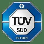 ISO 9001:2015 ZERTIFIZIERT Qualitätsmanagement