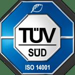 ISO 14001 ZERTIFIZIERT Wir produzieren ökologisch nachhaltig