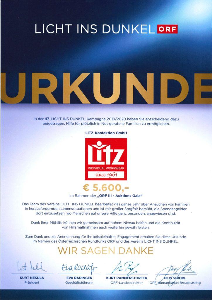 Litz_Licht_ins_Dunkel - Litz ist Goldpartner